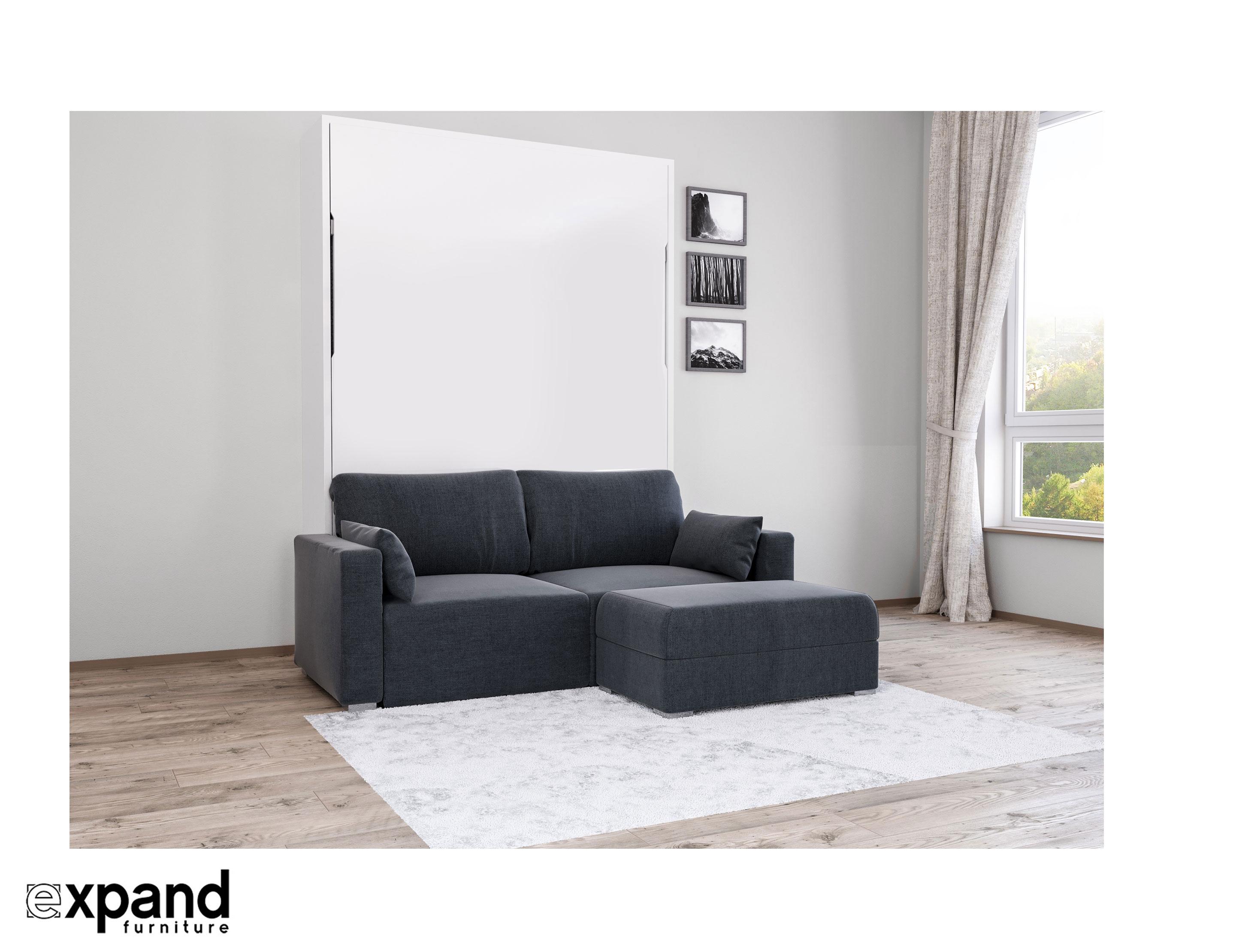 sofa murphy bed combination wrap in plastic murphysofa - minima sectional | expand furniture folding ...