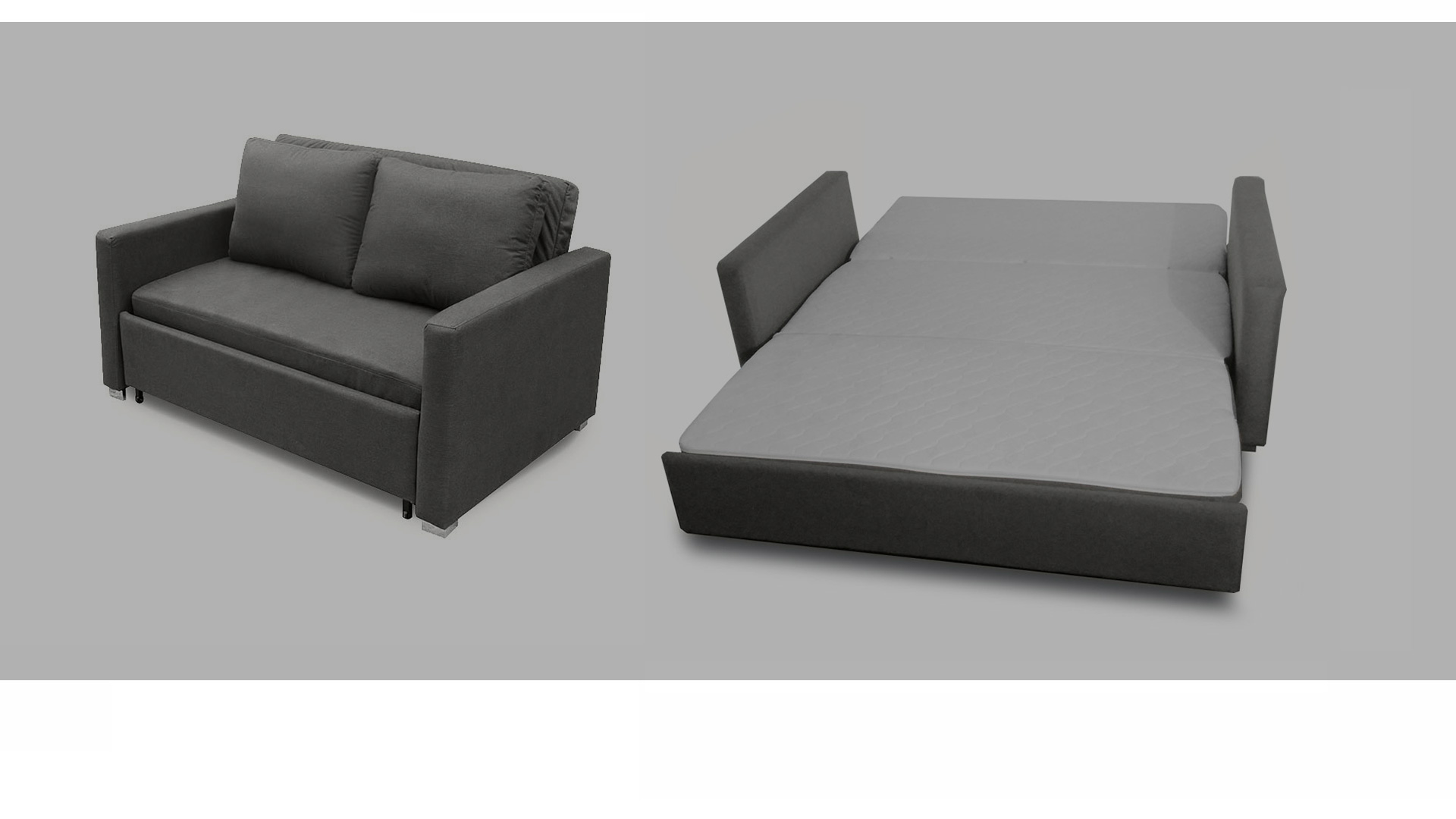 duo modern sofa bed sleeper small fabric corner uk space saver home the honoroak