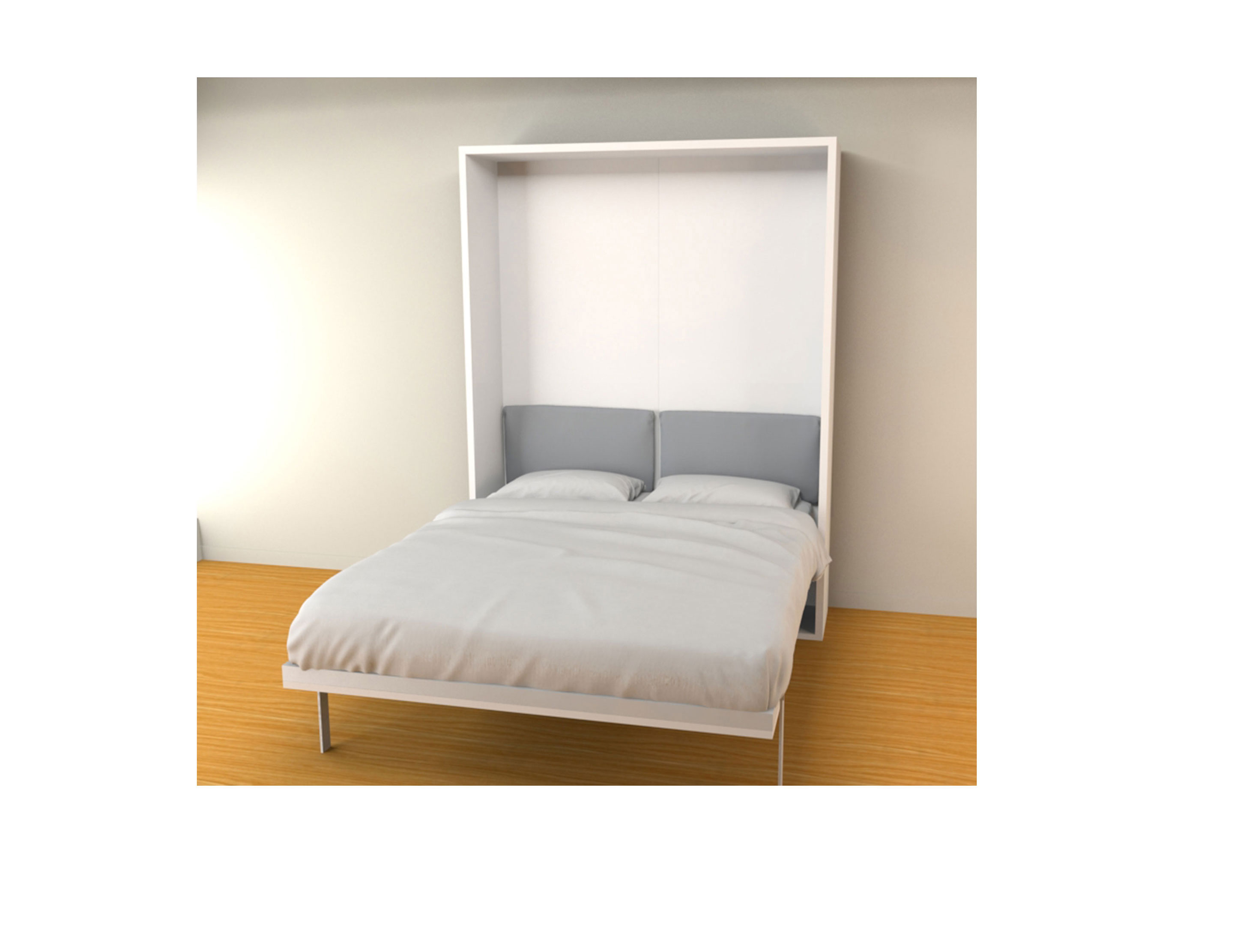 Hover Modern Double Murphy Bed Expand Furniture Folding Tables Smarter Wall Beds Space Savers