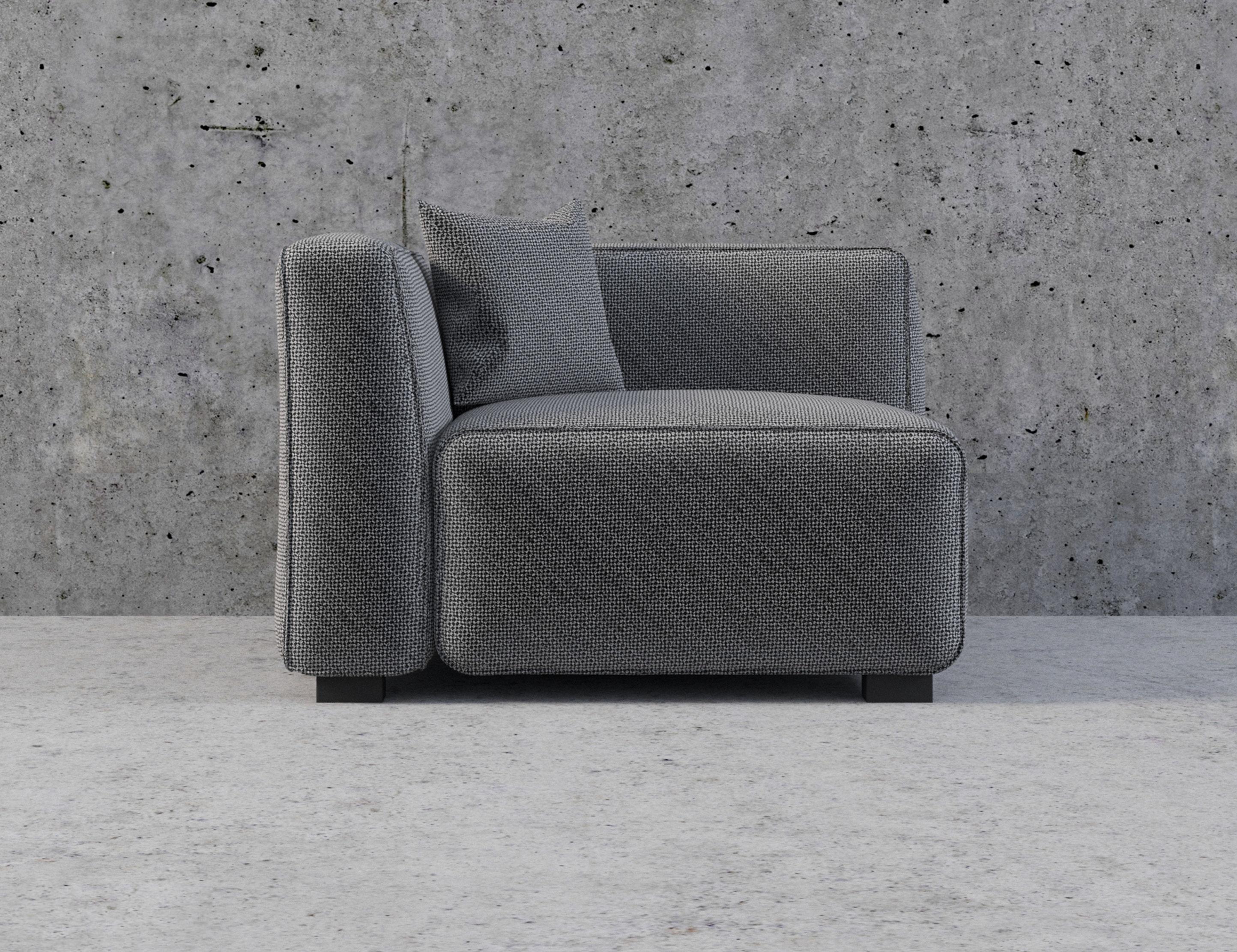 soft cube modern modular sofa set