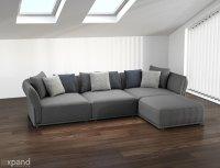 Stratus Sofa: Modern Modular Sectional Set of 5 | Expand ...