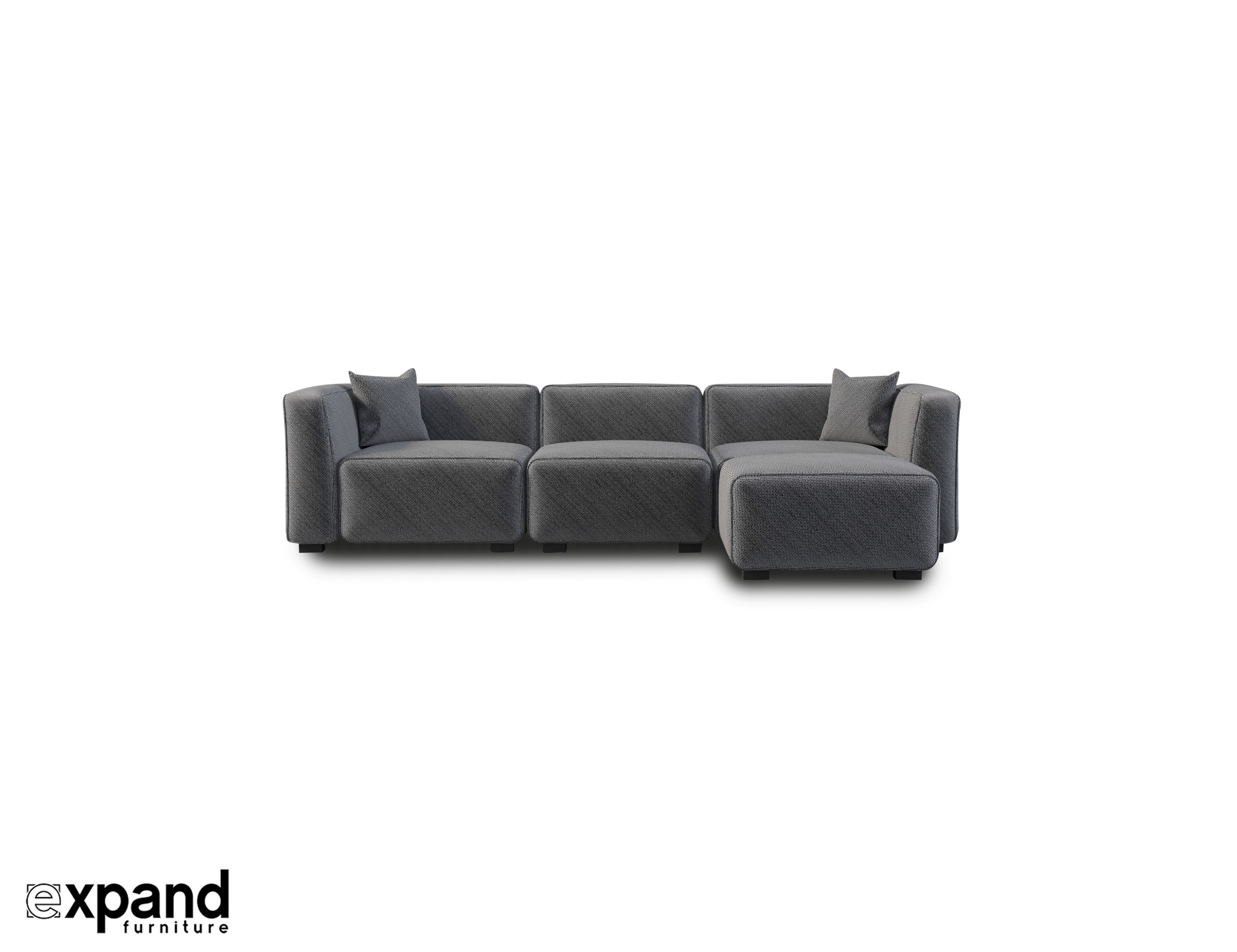 Soft Cube Modern Modular Sofa Set