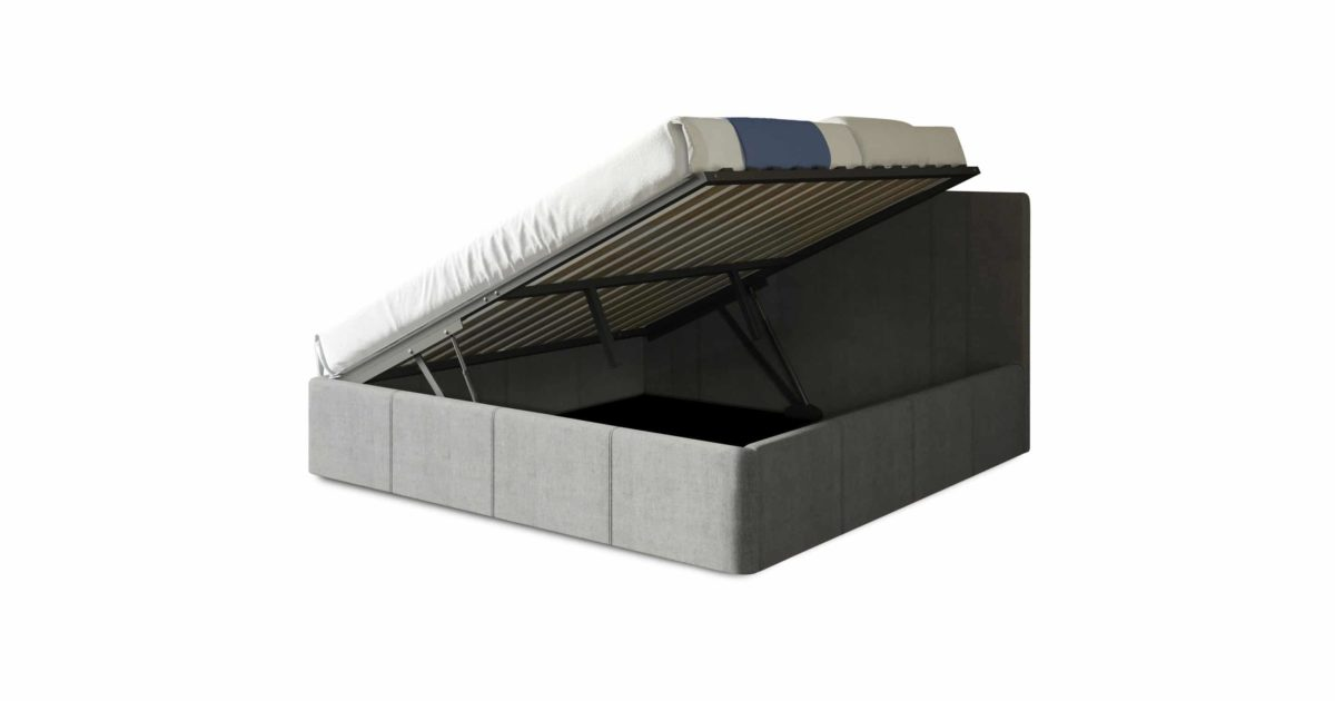 reveal full bed side lifting storage