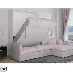 Wall Bed With Sofa Canada Braxton Left Facing Sectional Luxury Sleeper Home The Honoroak