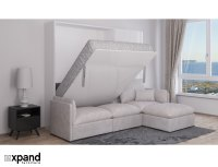 MurphySofa ADAGIO - Queen Luxury Sectional Sofa Wall Bed ...