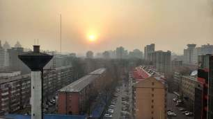 View from the hotel in Beijing. Photo by Leisa DeCarlo