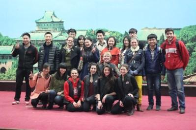 Wuhan University performance. Photo by Bob Eckhart.