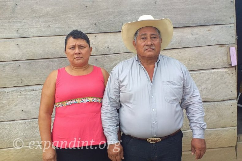 Mexican Rancher and His wife