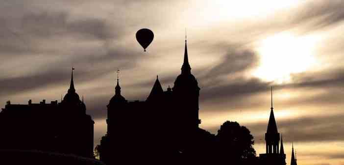 Digital marknadsföring i Stockholm - bild med luftballong över Södermalm