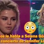 Dios le habla a Selena Gómez en pleno concierto de Jennifer López | #ExpansiónNews