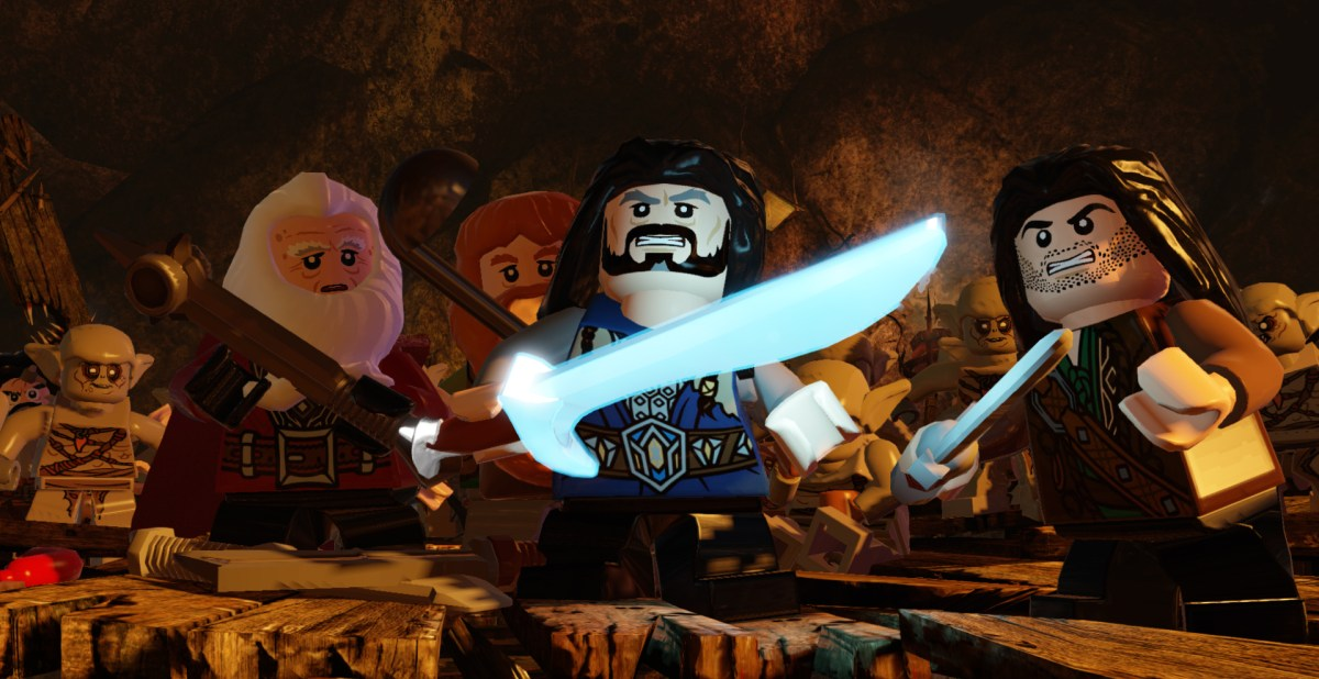 LEGO The Hobbit 1.1 patch hits PS4