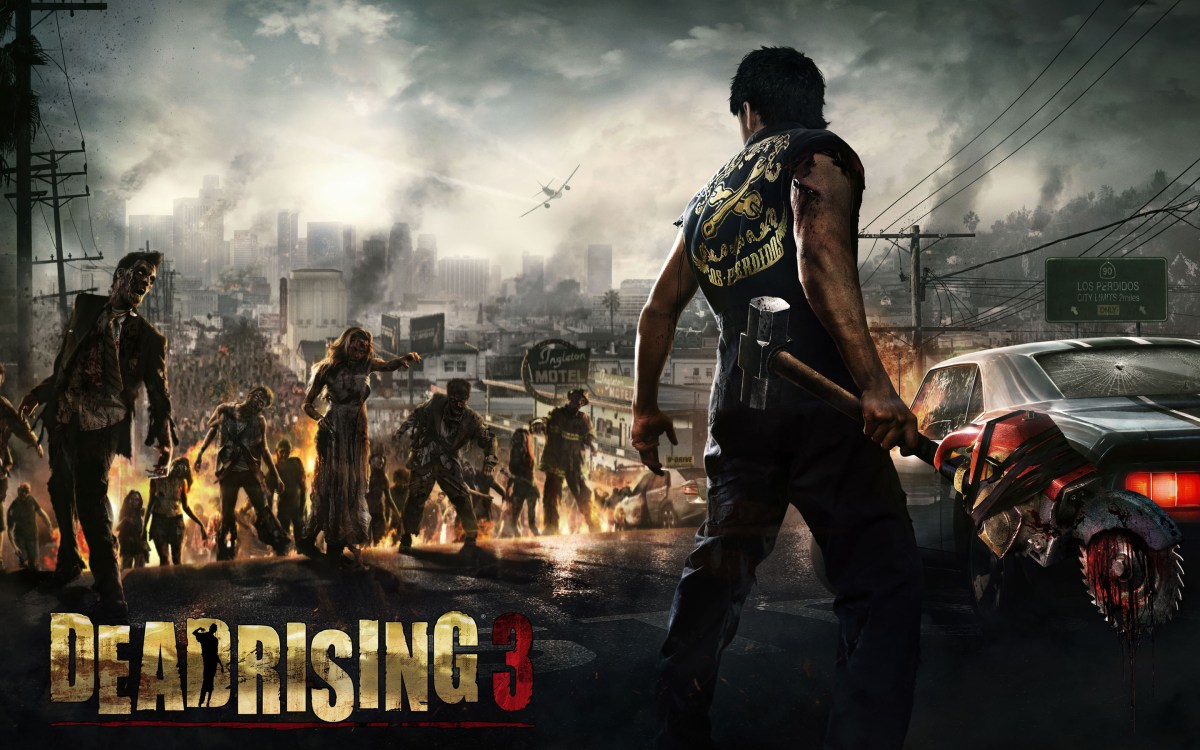 More Dead Rising 3 DLC is out now. It has a crazy name.