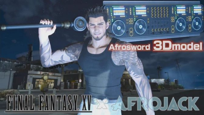 Final Fantasy XV getting Afrojack Afrosword DLC