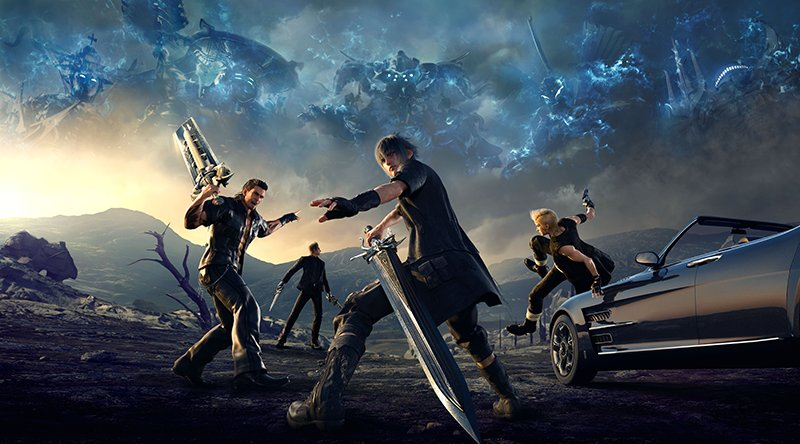 Final Fantasy XV 1.01 not running smoothly on PS4 Pro