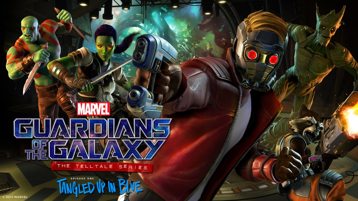 Guardians of the Galaxy Tangled up in Blue - Review