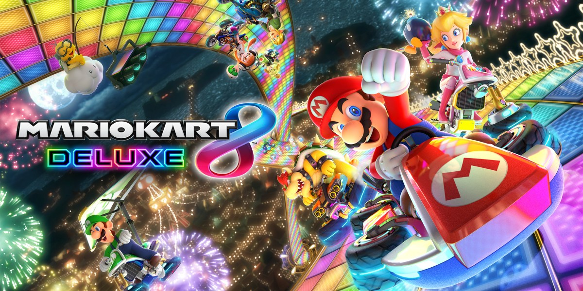 Mario Kart 8 Deluxe and Splatoon 2 will receive more DLC this year