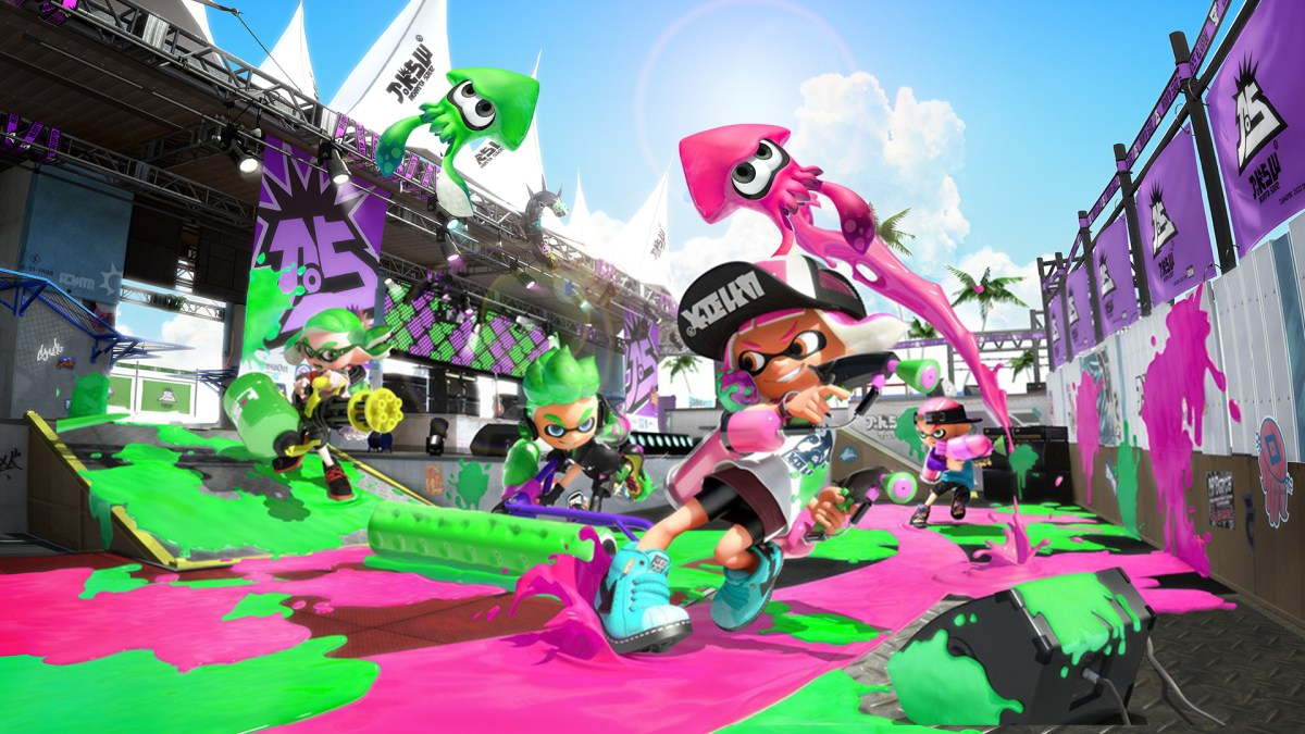 Splatoon 2 Hero Mode Preview