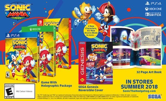 Sonic Mania Plus adds new playable characters