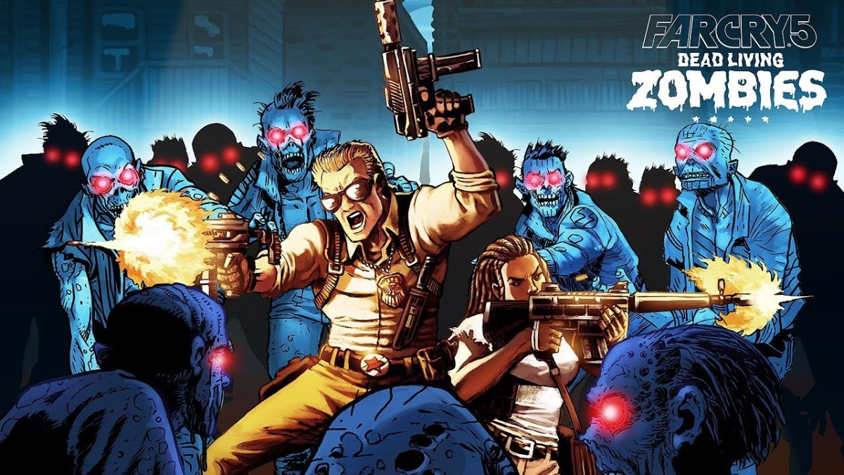 Far Cry 5 Dead Living Zombies DLC Trophies Leaked