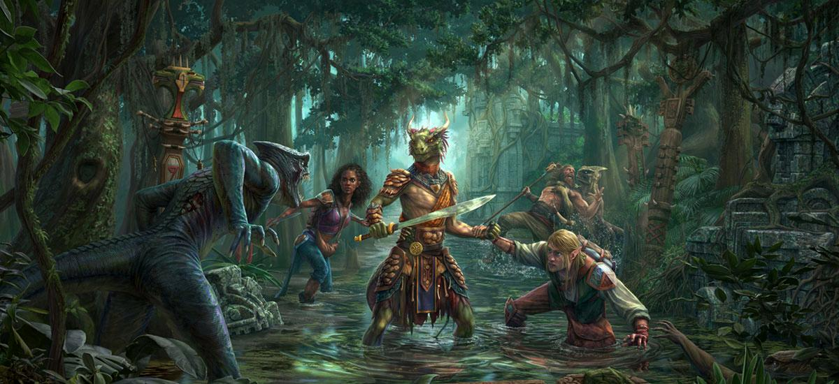 The Elder Scrolls: Online Murkmire DLC now available