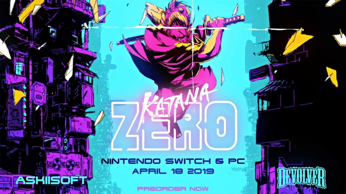 Katana Zero is the slickest, Sci-Fi-scrolling slasher we've played in ages
