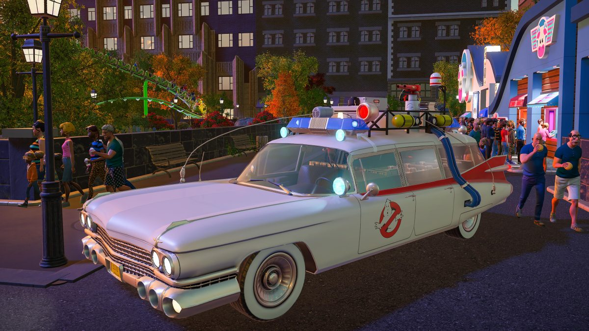 Planet Coaster gets something strange in the Neighbourhood with Ghostbusters DLC