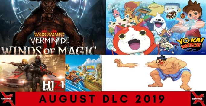 August 2019 DLC Release Schedule - Elder Scrolls, Street Fighter