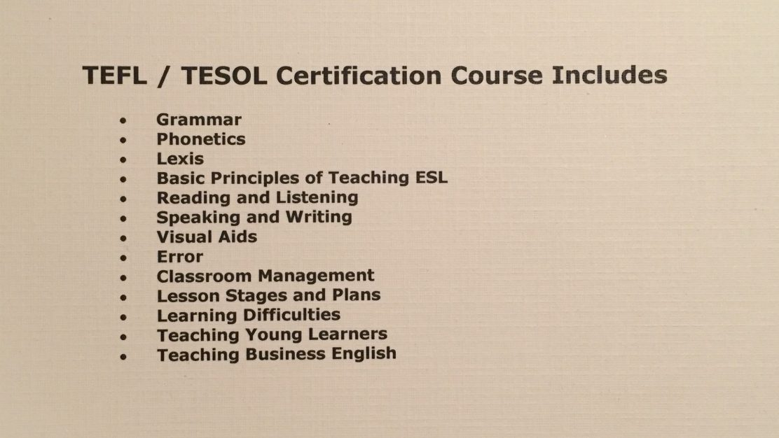 What Are The Differences Between The Tefl Tesol Tesl And Celta