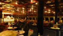 Inside the Blue Star ferry