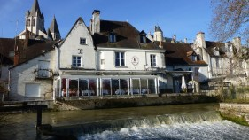 The Georges Sand Hotel on the Indre River in Loches
