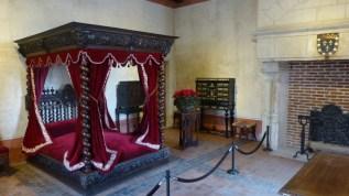 Da Vinci's deathbed