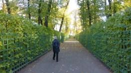 The Summer Garden is delightfully vacant in October