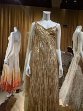 dalida gold dress