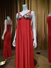 dalida red dress