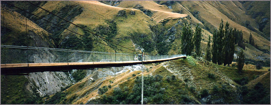 Pipeline Bungy Bridge Queenstown, New Zealand