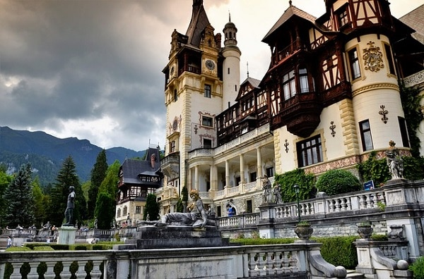 beautiful castles in Romania_Peles
