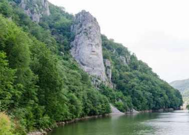 Statuia regelui Decebal