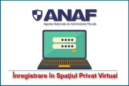 Open an online tax account with ANAF