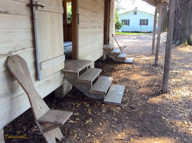 oak alley slave house