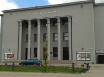 Daugavpils Theatre - with a sports centre attached...