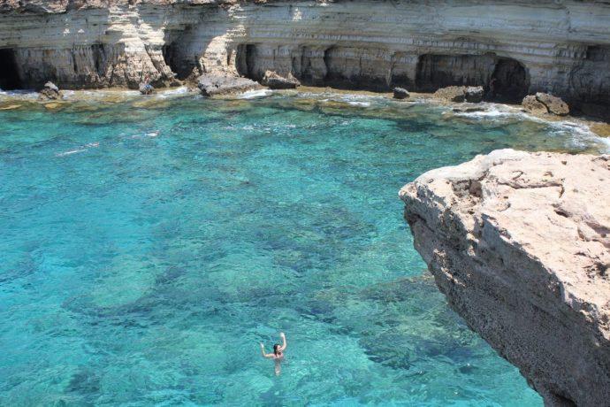Cliff jumping AYIA