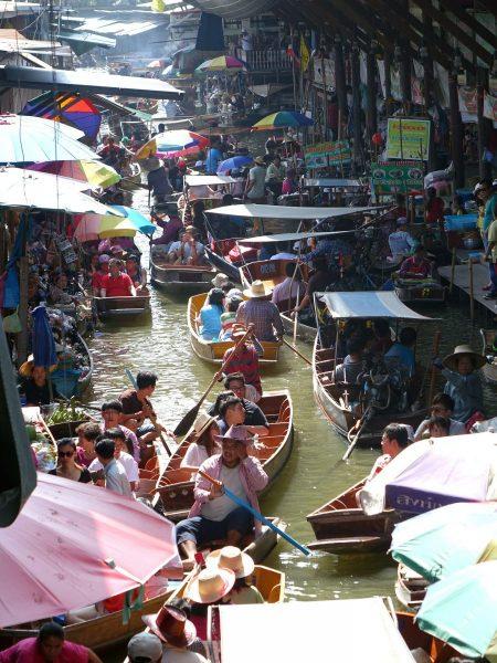 Damnoen Saduak Floating Market,Ratchaburi