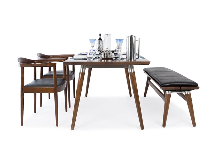 It is the size of a small work desk. Dining room table Singapore - teak & mahogany