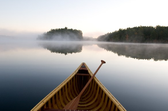 Canoe, MistyLake, cottagecountry