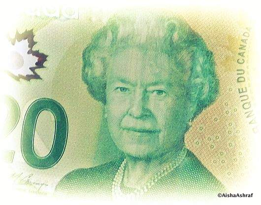 New Canadian twenty dollar bill