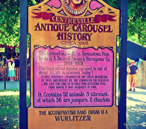 The history behind the antique carousel