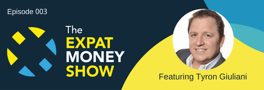 Tyron Giuliani interviewed on The Expat Money Show