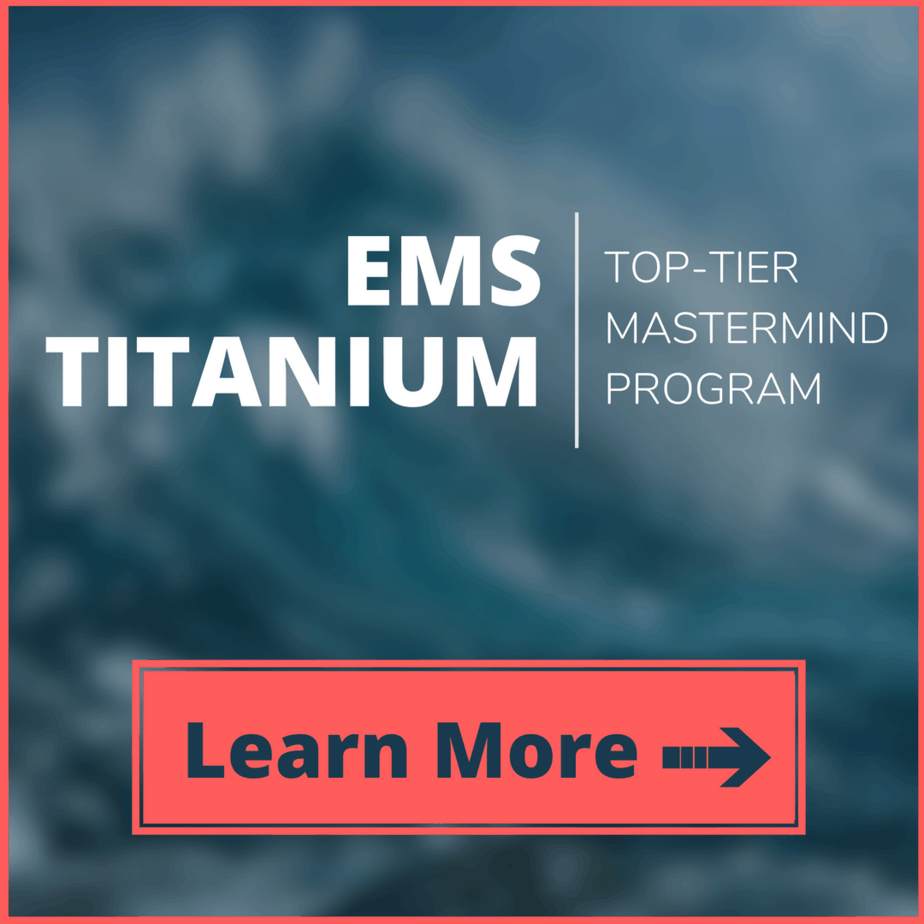 EMS Titanium Ad