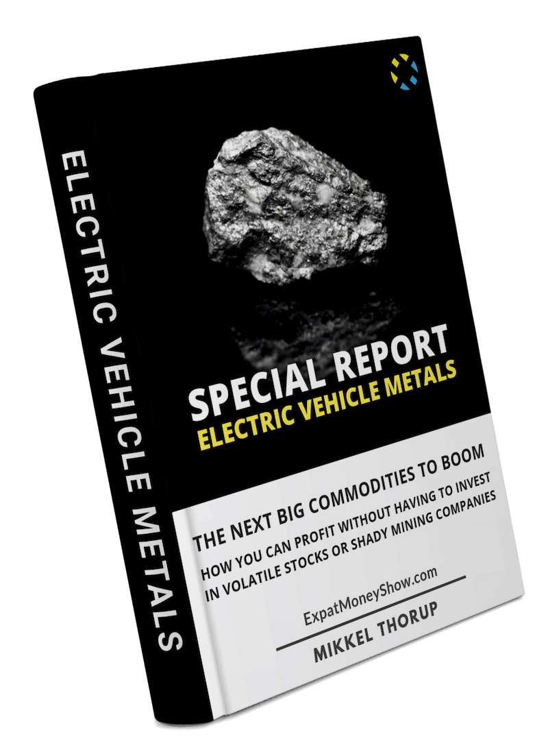 Special Report - Electric Vehicle Metals - 3D Image