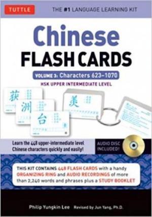 Chinese Flash Cards Volume 3- HSK Upper Intermediate Level